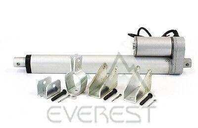 6  Heavy Duty Linear Actuator Stroke 12V 225Lb Max W  Tilt   Mounting Brackets