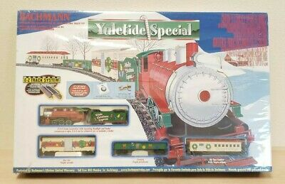 New & Sealed Bachmann HO Scale Yuletide Special Complete Electric Train Set
