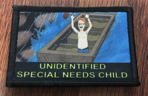 King of the Hill Special Needs Morale Patch Tactical Military Army USA Funny