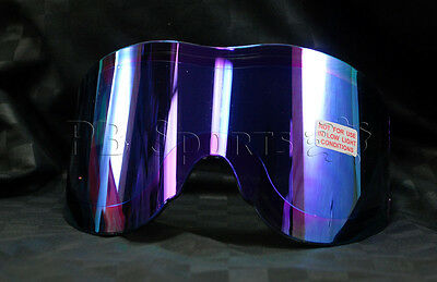 Empire Vents Mirror - Empire Vents Antifog replacement Thermal Lens - Purple Mirror tinted paintball
