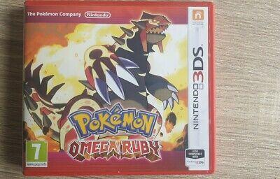 Nintendo 3ds Pokemon Omega Ruby Game