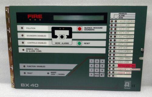 Autronica Bx40 Fire Alarm Control Panel