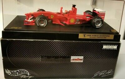 #1 of 25,000 Michael Schumacher FERRARI F1 2000 World Champion 1:18 RARE!!!