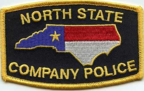 NORTH STATE COMPANY POLICE NORTH CAROLINA NC SPECIAL POLICE PATCH