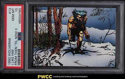 1992 Wolverine From Then Til Now II Prism I Like Him 13 PSA 10 GEM MINT - $10.76