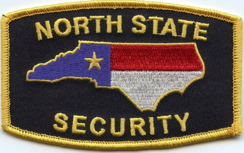 NORTH STATE NORTH CAROLINA NC SECURITY police PATCH
