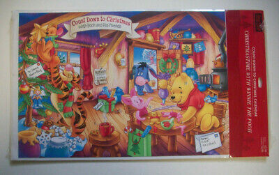 Winnie the Pooh Count down to Christmas advent calendar