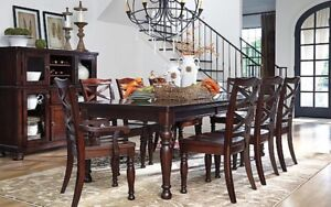 Ashley 10 Piece Dining Set