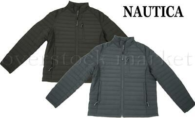NEW! MEN NAUTICA LIGHTWEIGHT ACTIVE STRETCH WATER/WIND RESISTANT JACKET! VARIETY