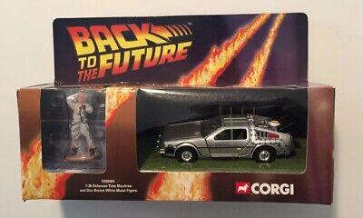 Corgi: Back to the Future Delorean Time Machine with Doc Figure