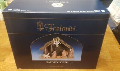 Fontanini by Roman Inc Italian 7 Pc Nativity Set 54564 - Gently Used!