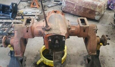Allis Chalmers B Tractor Rearend Assembly For Adjustable Wide Front