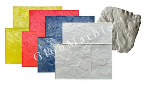 5 Pc Ashlar Stone SM 3005 Concrete Stamp Set Slate Stone Patio Stamping Mats