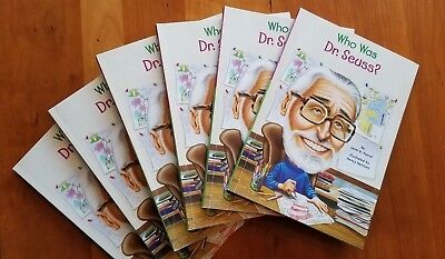 Who Was Dr. Seuss? by Janet Pascal SET OF 6 guided reading biography - Who Was Dr Seuss