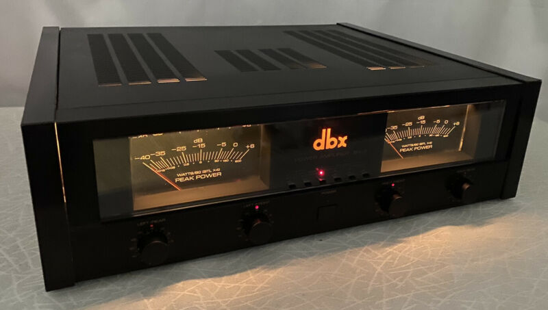 DBX BX-3 STEREO POWER AMPLIFIER SERVICED - SUPERB AMP