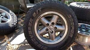 5 x jeep cherokee xj factory 15inch mag wheels rims 5 stud, tyre Bella Vista The Hills District Preview