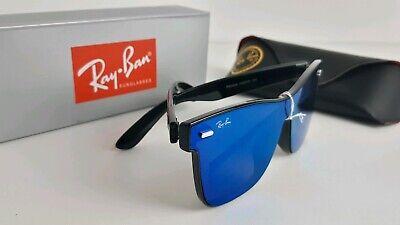Ray-Ban Polarized Wayfarer Rb4440 54mm blue lenses Black (Ray Ban Wayfarer Blue Frame)