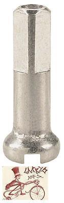 DT SWISS /& WS BRASS NIPPLES 14 /& 15 g Silver /& Black 12/&16mm *Any Quantity* NEW