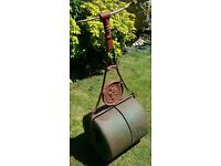 Antique Garden Split Lawn Roller, Lewis and Grundy of Nottingham