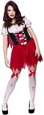 LITTLE DEAD RED RIDING HOOD FANCY DRESS COSTUME SCARY STORYBOOK HORROR HALLOWEEN