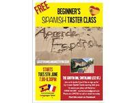 FREE Beginner's Spanish Taster Class