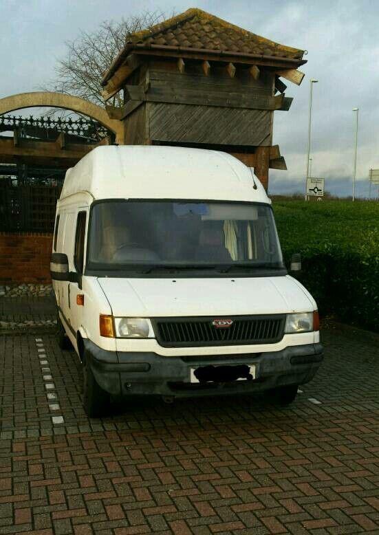 042c640113  SOLD  Campervan LDV Convoy. Huntingdon