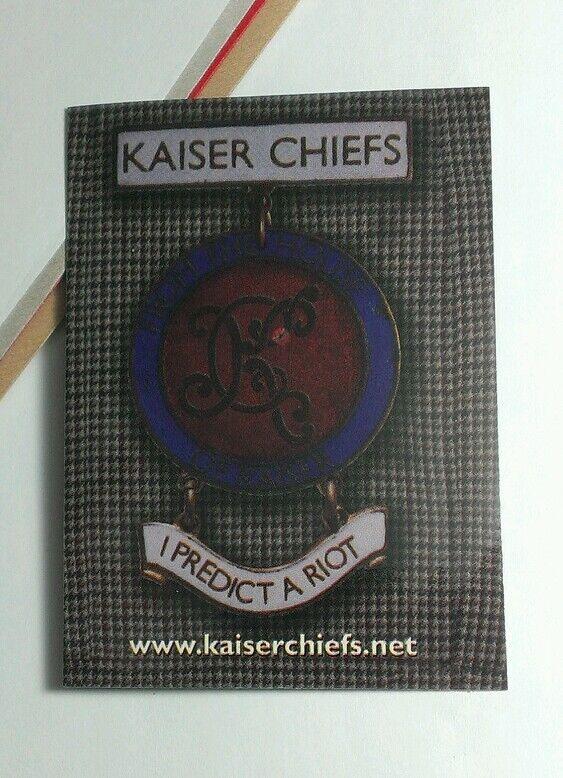 KAISER CHIEFS I PREDICT A RIOT MUSIC STICKER