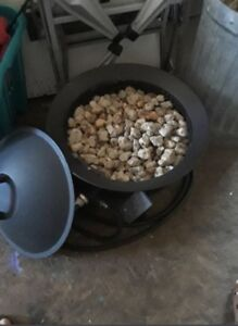 Outdoor Propane Fireplace *$130 firm*