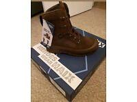 British army boots haix dessert size 7