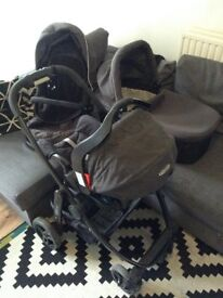 Graco Evo Travel System in Grey and Black