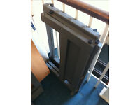 Office grey metal table legs / scrap metal