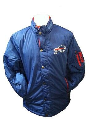 Buffalo Bills MENS Full Zip Jacket Polyfill Sack Coat Royal by G-III