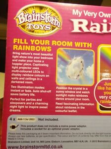 Brainstorm Toys My Very Own Rainbow Bedroom Night Light -NEW Kitchener / Waterloo Kitchener Area image 5