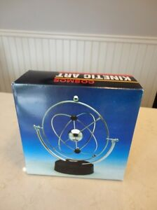 Cosmos Kinetic Art Motion Toy - Works Great