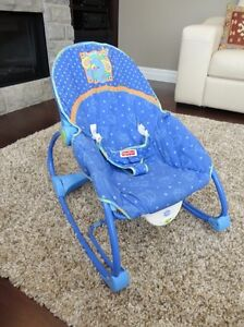 Fisher Price Calming Vibrations Rocker Chair - Excellent Shape Kitchener / Waterloo Kitchener Area image 1