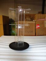 Selling 20 Small Two Tier Acrylic Spinner Keychain Displays -NEW
