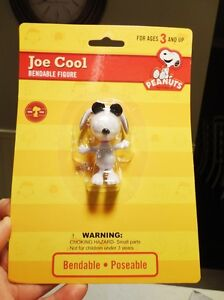 Early 90's Vintage Peanuts Jo Cool Bendables - Mint Shape! Kitchener / Waterloo Kitchener Area image 3