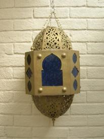 Large Brass Lantern. Lamp. Light.
