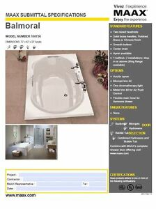 NEW - Bathtub 6 ft drop-in, micro air jets - NEVER USED