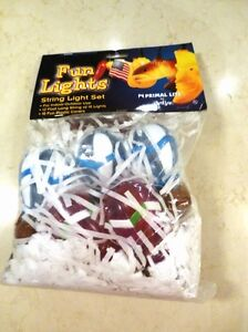 1 New Set of 12.5' Long Patio Light sets of Hot Air Balloons