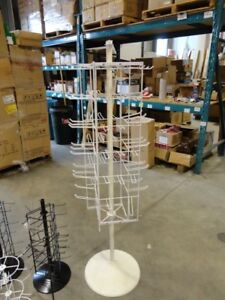 """72 Peg Floor Display Rack Great for Small packages 3 x7"""" or less"""