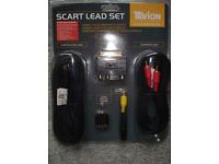 Scart Lead Set - Brand new and still packed