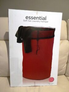 Brand New Essential Soft Sac Laundry Hamper - Unopened
