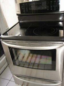 Kenmore stainless steel stove, convection oven, self clean, $500
