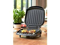 The George Foreman 2-Portion Compact Grill ..Brand New...10 each..x3 available..