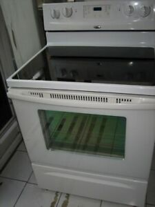 Whirlpool ceramic top stove, $300Fully functional, clean inside