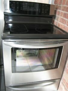 Kenmore stainless steel stove, convection oven,$500Touch keypad