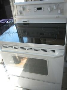 Whirlpool ceramic top stove, $250