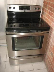 kenmore stainless steel stove self cleaning 450 fully functio