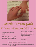 Mother's Day Gala Dinner Concert Dance